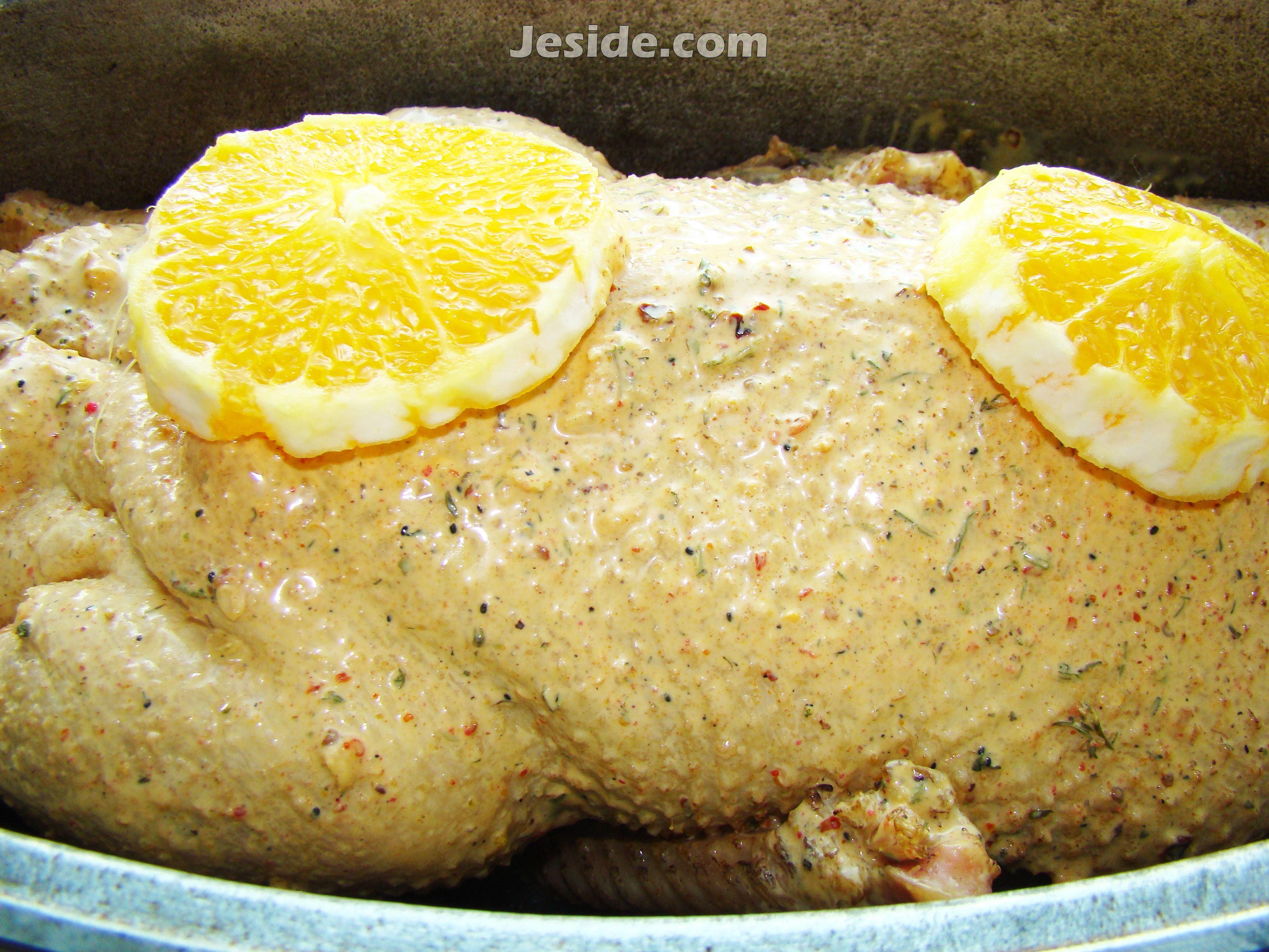 Утка в духовке с апельсинами фото рецепт