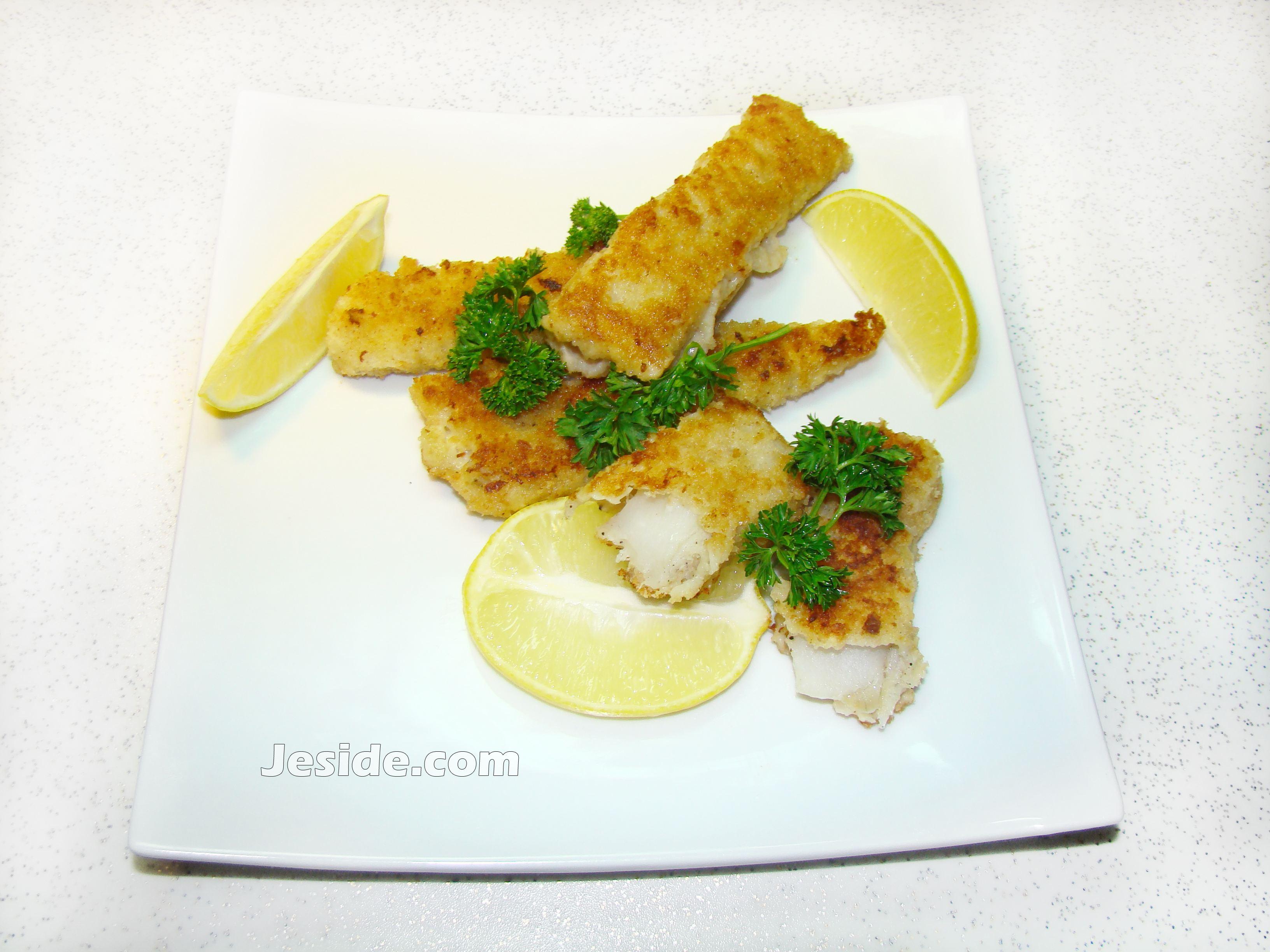 Рыбные палочки из трески рецепт