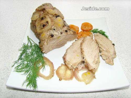 Свинина с майонезом в фольге в духовке рецепт