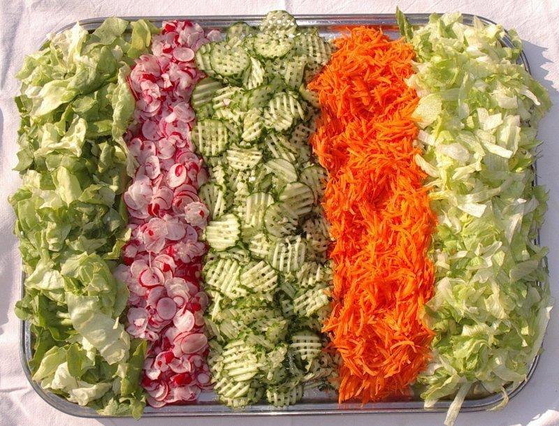Централизованное производство салатов и винегретов.